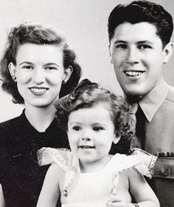 President Obama's Grandparents and Mother: Madelyn, Stanley Ann, and Stanley Dunham